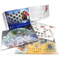 RCM Issue: Lot of Canada Commemorative Coin Sets in Collector Boards. You will receive the 1992 25-c