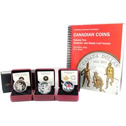 RCM Issue: RCM Lot: 3x 2012-2015 Canada Fine Silver Coins. You will receive the 2012 $20 The Three W