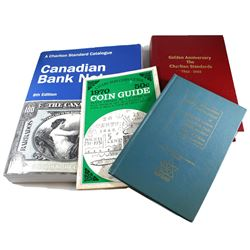 Mixed Lot of Charlton Catalogues. This lot includes the 1967 Standard Catalogue of Coins, Tokens, an