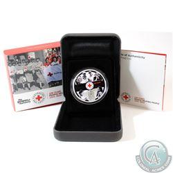 Perth Mint: 2014 Australia $1 100th Anniversary of Australian Red Cross 1oz Silver Proof Coin (TAX E