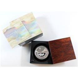 Perth Mint: 2008 Australia $1 Treasures 'Opals' 1oz Fine Silver Coin (Tax Exempt). Please note the c
