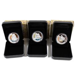 Perth Mint: 2012 Tuvalu $1 Ships that Changed The World Series - Golden Hind, Cutty Sark & U.S.S. Co