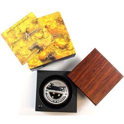 Perth Mint: 2010 Australia $1 Treasures 'Gold' 1oz Fine Silver Coin (Tax Exempt)