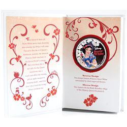 NZ Mint: 2015 Niue $2 Disney Princesses - Snow White Proof Silver (Tax Exempt)