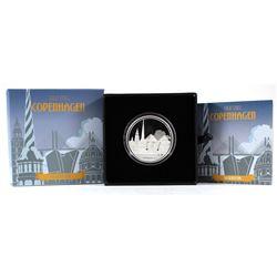 NZ Mint: 2017 Niue $2 Great Cities - Copenhagen 1 oz. Silver (TAX Exempt)