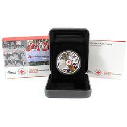 Perth Mint: 2014 Australia 100th Anniversary of Australian Red Cross Silver (Tax Exempt)