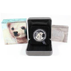 Perth Mint: 2017 Tuvalu 50-cent Polar Babies - Polar Bear 1/2oz Silver (Tax Exempt)