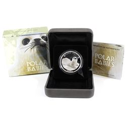 Perth Mint: 2017 Tuvalu 50-cent Polar Babies - Harp Seal 1/2oz Silver (Tax Exempt)