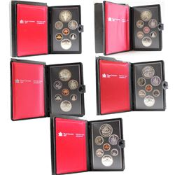RCM Issue: 1979-1983 Canada Proof Double Dollar Sets. You will receive one of each Set Issued from 1