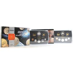 RCM Issue: 2000 and 2001 Canada Proof Double Dollar Sets. Please note coins may contain toning and o