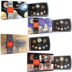 RCM Issue: 1999-2002 Canada Proof Double Dollar sets. You will receive one of each Set Issued from 1