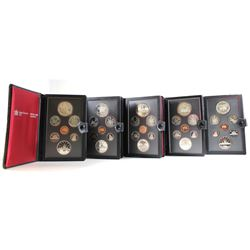 RCM Issue: 1981-1985 Canada Proof Double Dollar Sets. You will receive one of each Set Issued from 1