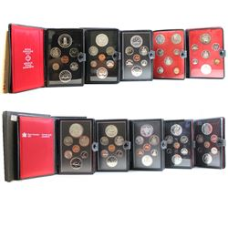 RCM Issue: Estate Lot of 1971-1982 Canada Double Dollar sets. You will receive one of each Set Issue