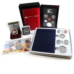 RCM Issue: 1986 Canada RCM Estate Lot. You will receive the following items Issued in 1986; Specimen