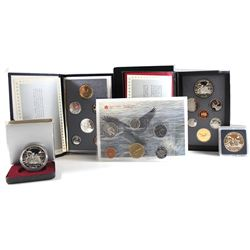 RCM Issue: 1989 Canada RCM Estate Lot. You will receive the following items Issued in 1989; Specimen