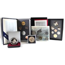 RCM Issue: 1990 Canada RCM Estate Lot. You will receive the following items Issued in 1990; Specimen