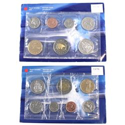 RCM Issue: 1999 Canada Uncirculated Proof Like Sets. You will receive two sets, one contains the Fro