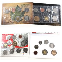 RCM Issue: 2008-2011 Canada Uncirculated sets. You will receive:  2008 Special Edition Olympic set,