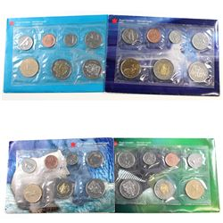 RCM Issue: 1999-2000 Canada Uncirculated Proof Like Sets. You will receive:  1999 Polar Bear, 1999 N
