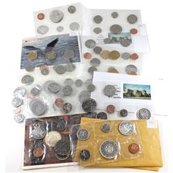 RCM Issue: Estate Lot 1964-2005 Canada Uncirculated Proof Like Sets. You will receive:  1964, 1965 P