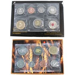 RCM Issue: 2004 Regular and 2004 Test Token Poppy Uncirculated sets. Please note test token sets env