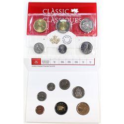 RCM Issue: 2010 & 2017 Canada Uncirculated Coin sets. Please note 2010 envelope contains discolourat
