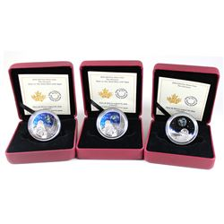 RCM Lot: 3x 2016 Canada $20 The Universe Fine Silver Coins. You will receive 1x The Universe (capsul
