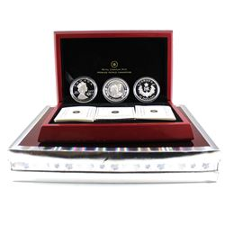 RCM Issue: 2012 Canada $20 Queen's Diamond Jubilee Fine Silver 3-coin Set (outer cardboard sleeve wo