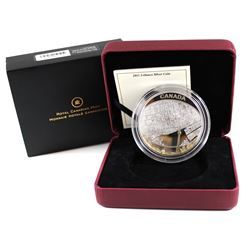RCM Issue: 2011 Canada $25 Toronto City Map 2oz. Gold Plated Fine Silver Coin (capsule is scratched