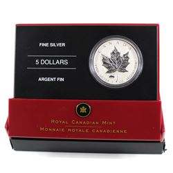 RCM Issue: 2005 Canada $5 VE Day Privy Fine Silver Maple Leaf (TAX Exempt)