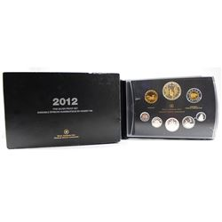 RCM Issue: 2012 Canada War of 1812 Fine Silver Deluxe Proof Set (outer sleeve is worn & missing COA)