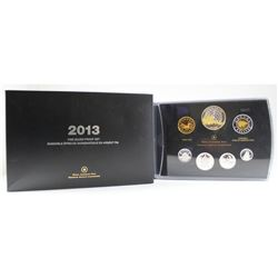 RCM Issue: 2013 Canada Arctic Expedition Fine Silver Double Dollar Proof Set (outer sleeve lightly b