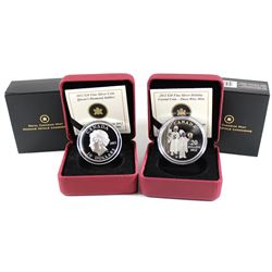RCM Lot: 2012 Canada $20 Queen's Diamond Jubilee with Portrait in Ultra High Relief & 2012 $20 The T