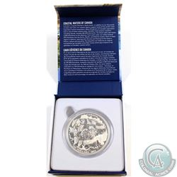 RCM Issue: 2015 Canada $200 Coastal Waters 2oz $200 for $200 Fine Silver Coin (TAX Exempt)