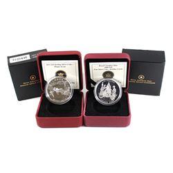 RCM Issue: 2008 Canada $20 Holiday Carols & 2011 Canada $20 Winter Scene Fine Silver Coins (Tax Exem