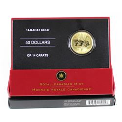 RCM Issue: 2005 Canada 60th Anniversary of the End of WWII 14k Gold Coin.