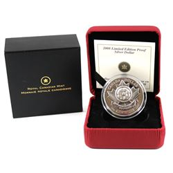 RCM Issue: 2008 Canada Poppy Limited Edition Proof Sterling Silver Dollar.