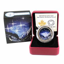 RCM Issue: 2015 Canada $25 Star Charts - Eternal Pursuit Fine Silver Coin (Tax Exempt)