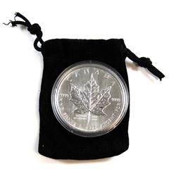 2004 Canada Desjardins Privy Mark 1oz. SML Five Dollar Coin (toning spots). TAX Exempt