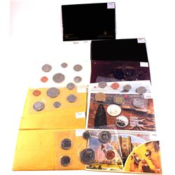 RCM Issue: 1968, 1969,1970, 1971, 1975, 1977, 1978 Square, 1980, 1982, 1985 Reg, 1993, 1999 Nunavut,