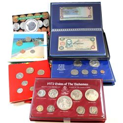 World Mint: 6x Commemorative Mint Sets from Around the World. This lot includes: 1972 Bahama Islands