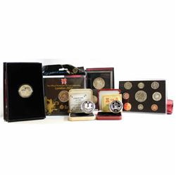 World Mint: 6x Commemorative Mint Coins. This lot includes: 1986 Cook Island $1 Silver Coin Commemor