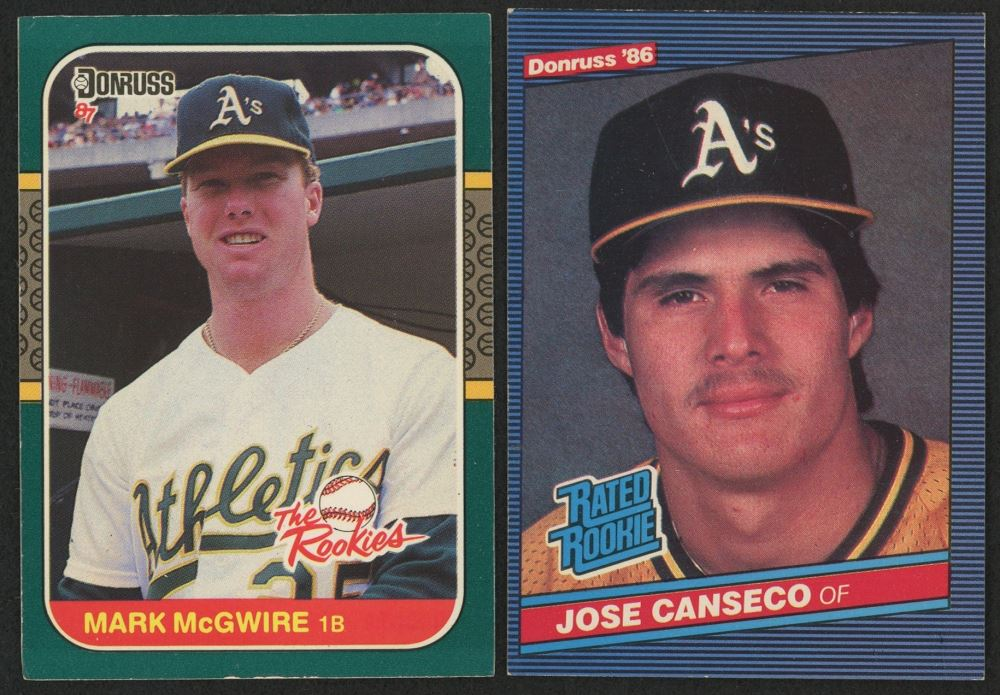 Lot Of 2 Rookie Baseball Cards Wtih 1986 Donruss 39 Jose