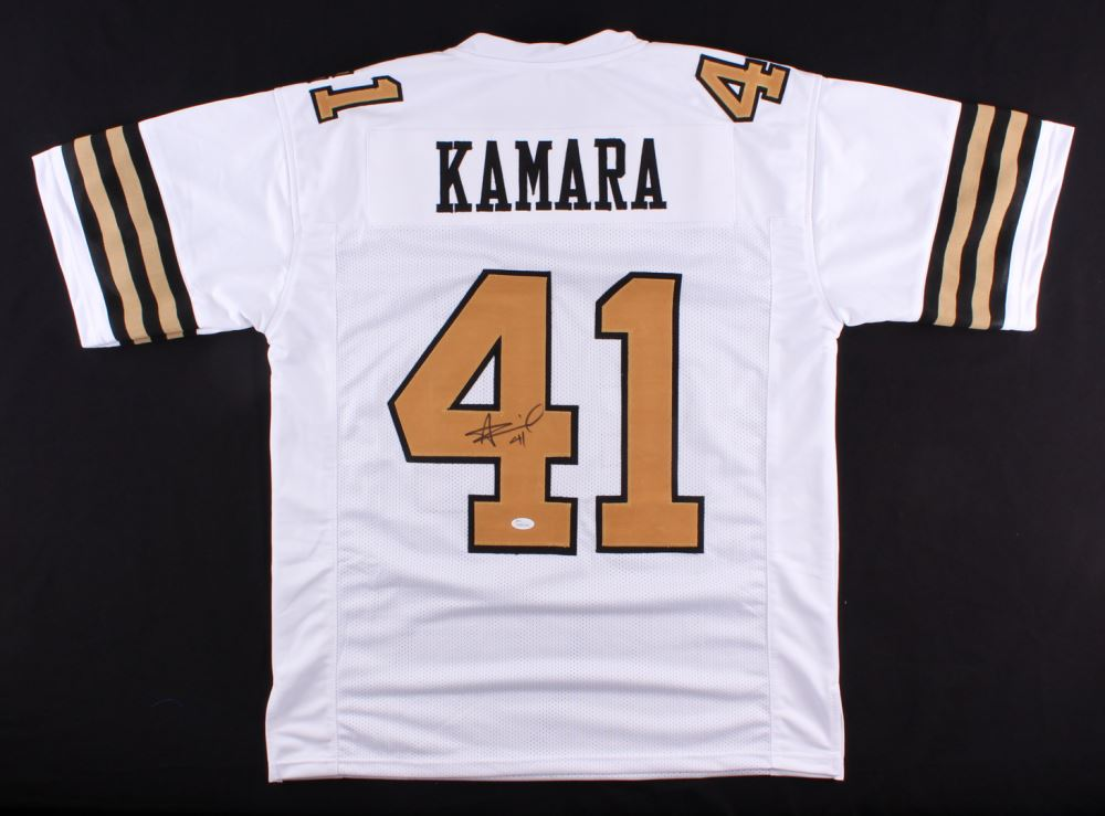 new product 5cbfb 1ea49 Alvin Kamara Signed Saints Color Rush Jersey (JSA COA)