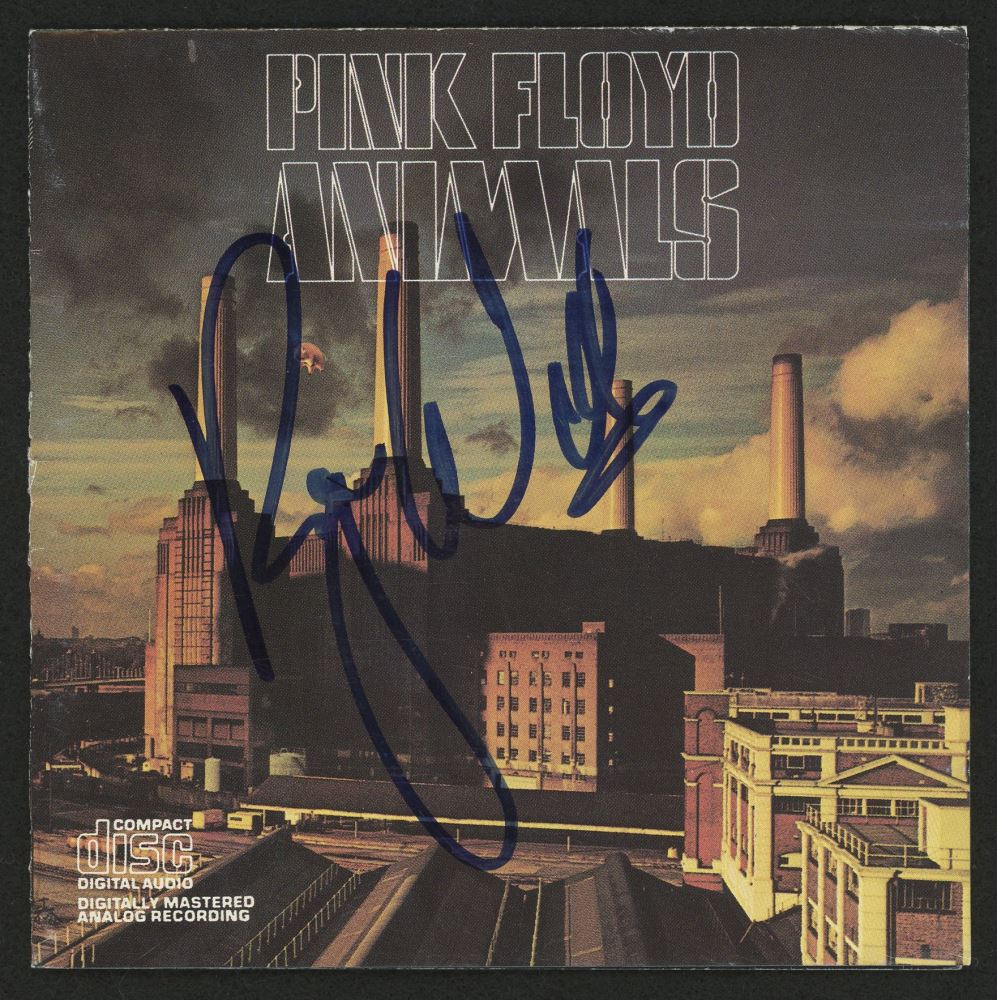 Pink Floyd Signed disque dor