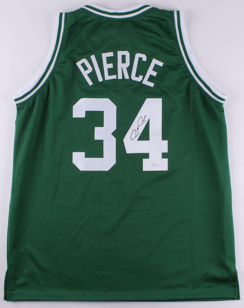 new product 1df2f bc8cf Paul Pierce Signed Celtics Jersey (JSA COA)