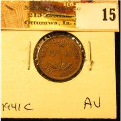 1941C Newfoundland Cent, AU.