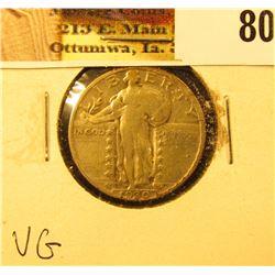1930 P U.S. Standing Liberty Quarter, VG.