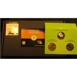 "2014 P, D, & S United States Mint ""Coin Discovery Set"", includes magnifying glass, gloves, tubes, an"