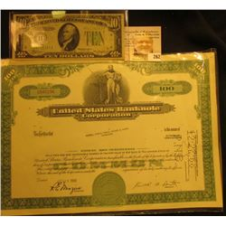 "Oct. 29, 1968 100 Shares ""United States Banknote Corporation"" ""Merrill Lynch, Pierce, Fenner & Smith"